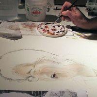 021-Aquarellade-demo-portrait-Thirion-2013